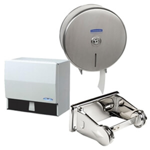 Toilet Tissue & Paper Towel Dispensers